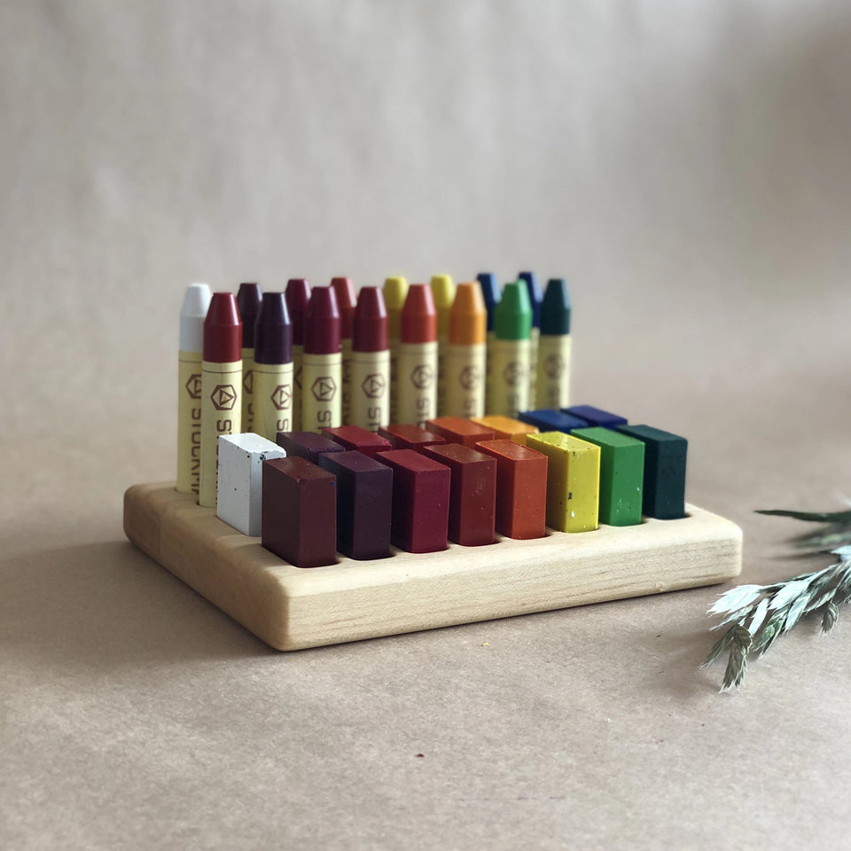 STOCKMAR CRAYON HOLDER ~ 32 SPACES