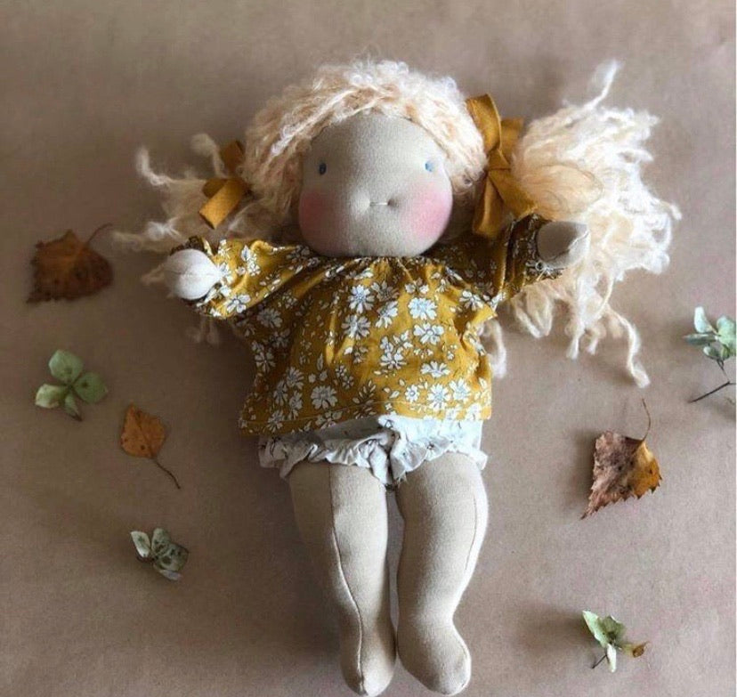 SMALL CUSTOM WALDORF GIRL~  ~ POEMS FOR BUTTERCUP