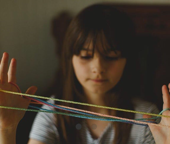 RAINBOW STRING GAME ~ SARAH'S SILKS