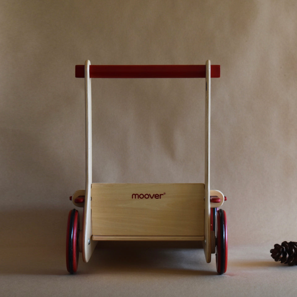 WOODEN BABY WALKER ~ NATURAL