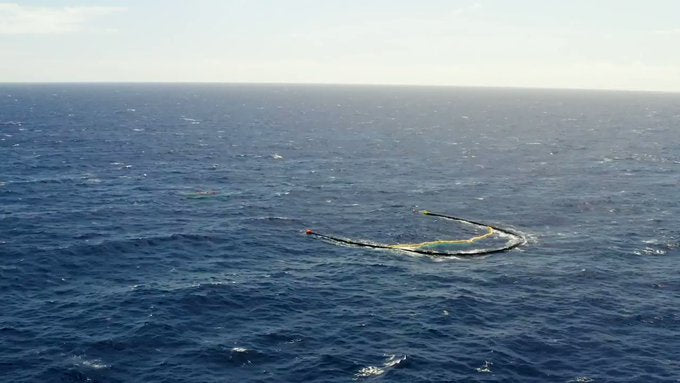 Great Pacific Garbage Patch cleanup is underway