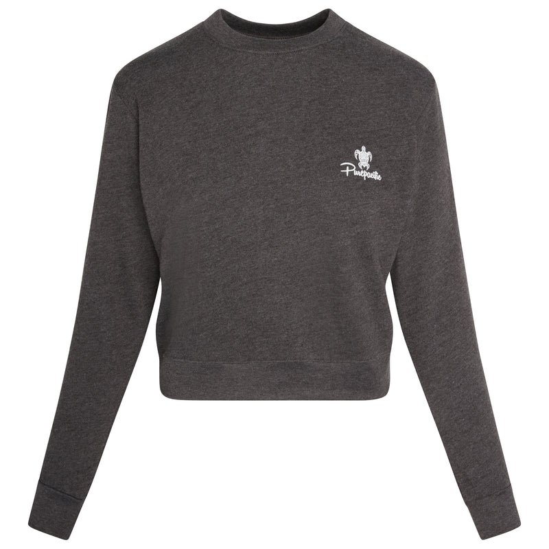 Women's Organic RPET French Terry Crew