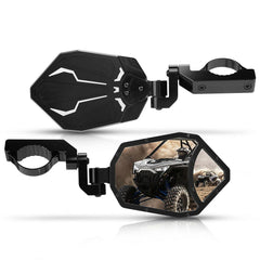 "2020 Polaris RZR Pro XP Can Am Yamaha 1.6""-2"" Roll Bar Side Mirrors"