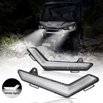 2020+ Defender & Defender Max Daytime Running Lights Without Turn Signal