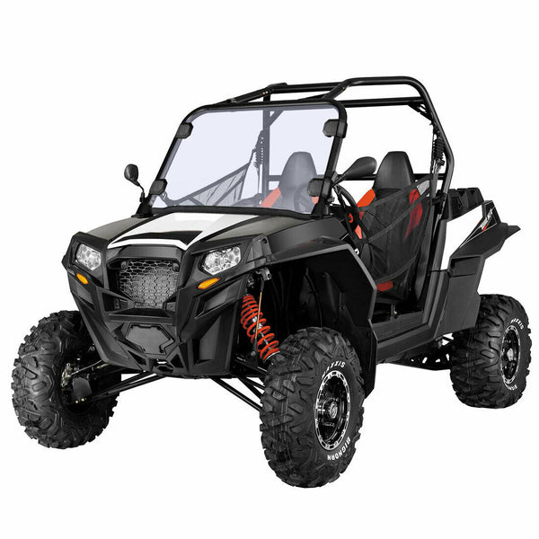 "Polaris RZR 570 Midsize 800 S 800 XP 900 1/4"" Thick Full Windshield Windscreen - Kemimoto"
