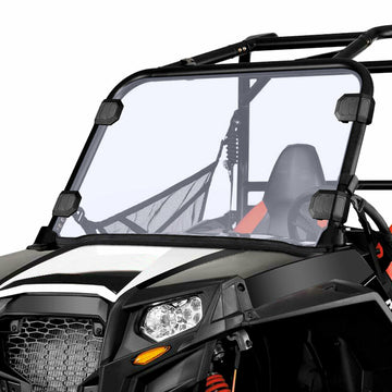 "Polaris RZR 570 Midsize 800 S 800 XP 900 1/4"" Thick Full Windshield Windscreen"