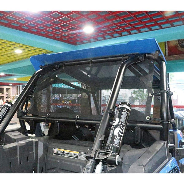 RZR Window Net UTV Roll Cage Mesh Guard Window Shade Shield Cover Net for a RZR 570 800 S 800 900 - Kemimoto