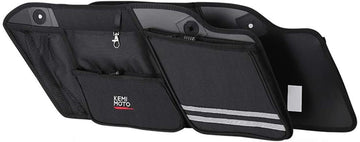 Saddle Bags Organizers, 2 Pack for 1993-2013 Harley Road Glide Electra Glide Street Glide Road King
