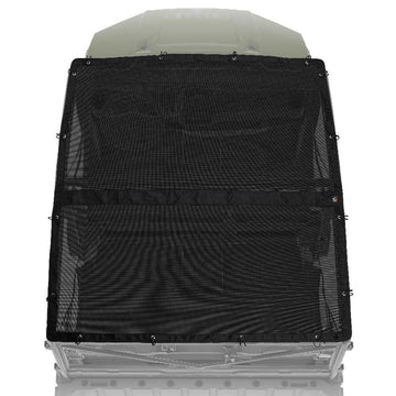 UTV Soft Top Window Net Mesh Compatible with 2017-2021 Polaris Ranger 1000 Crew