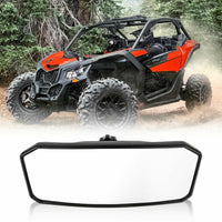 Panoramic Center Mirror For Can Am Maverick X3 XRS XDS Max Turbo R RR - KEMIMOTO