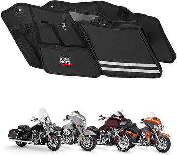 Street Glide Saddlebag Organizers, 2 Pack for 2014-2020 Harley Road King Road Glide Electra Glide
