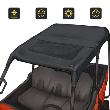 Fabric Soft Top Compatible with Honda Pioneer 1000