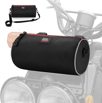Universal Motorcycle Handlebar Saddle Bag
