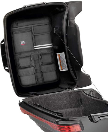 Tour Pack Lid Organizer For Harley