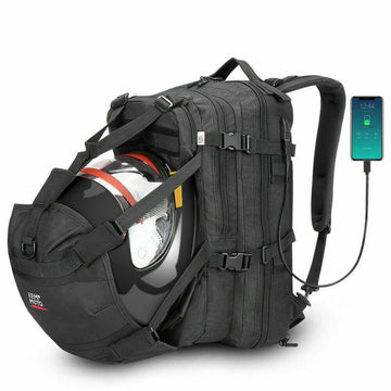 Backpack Helmet Storage Motorcycle  Backpack 37L