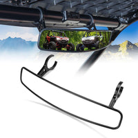"17"" Wider Universal UTV Center Rearview Mirror For 1.75-2 inch Roll Bar - Kemimoto"