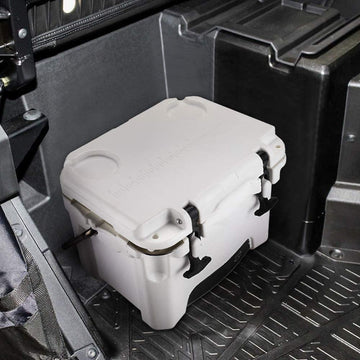 Under Passenger Seat Cooler Storage Ice Box for Polaris Ranger 1000