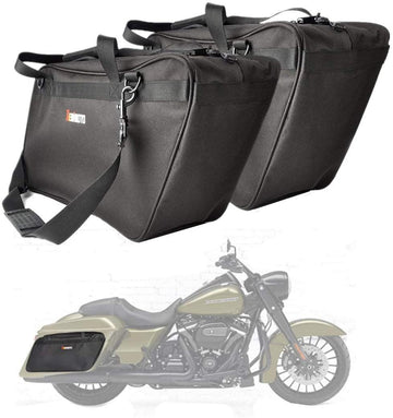 Motorcycle Saddlebag / Travel Tour Pack Bag For Harley Touring Glide Road King
