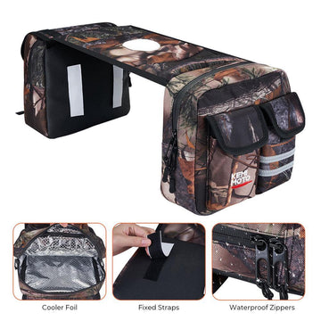 ATV Saddle Bag Waterproof Storage Bag Camouflage