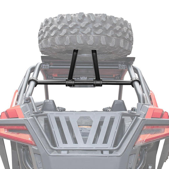2020 RZR PRO XP/ 4 Spare Tire Carrier, Heavy Duty Spare Tire Mount Holder Rack - Kemimoto