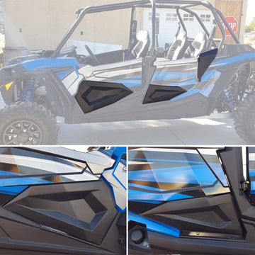 Polaris RZR XP4 1000 XP 900 S4 XP 2014-19 Half 4D Lower Inserts Panels (Start Shipping in June)