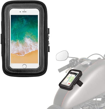 Motorcycl Tank Bag Mobile Phone Case with Magnets