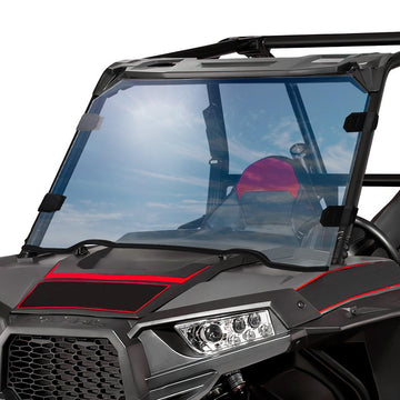 2015-2018 Polaris RZR XP 1000 1/4 Thick PMMA Full Windshield  (Only For USA)