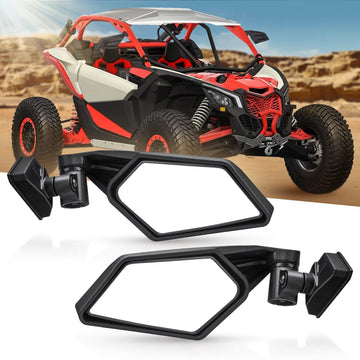 Upgraded Can Am Maverick X3 Max UTV Side View Mirror 2017-2020