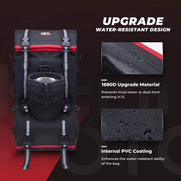 PVC Coating Oxford Fabric Black ATV Fender Bag