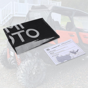 UTV Rear Window Nets For Can Am Maverick X3 Trail OEM 715003664