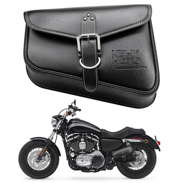 Motorcycle Swing Arm Saddle Bag Left / Right