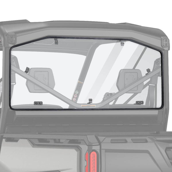 Polycarbonate Scratch Resistant Defender Rear Windshield For Can Am Defender HD 5/8/ 10/ MAX 2016-2021 - KEMIMOTO
