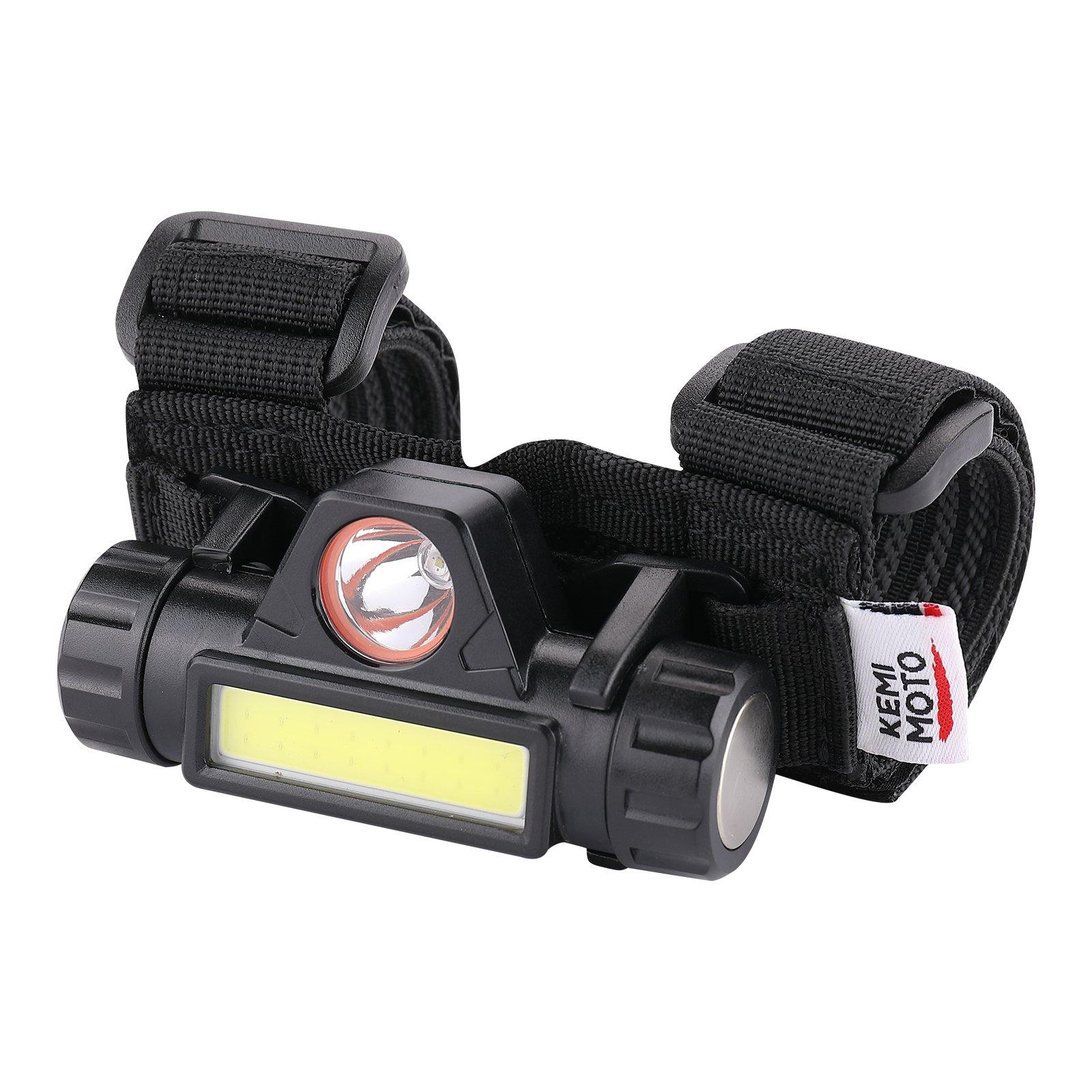 Universal Roll Bar Mount with LED Light - Kemimoto