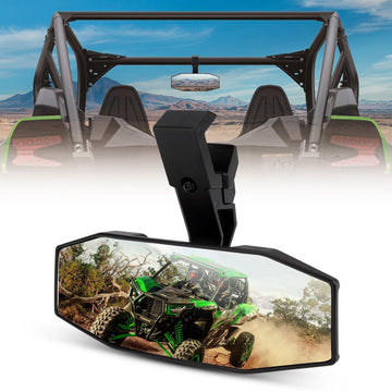 UTV Rear View Center Mirror for Kawasaki Mule Teryx