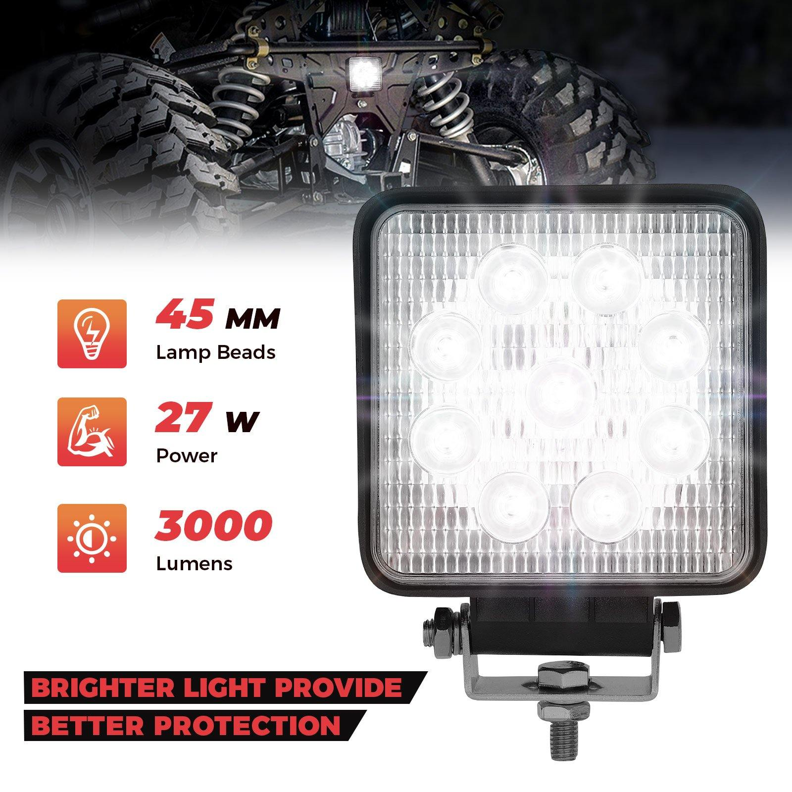 Ranger 1000 XP 2018-2020 40MM Wafer Light - KEMIMOTO