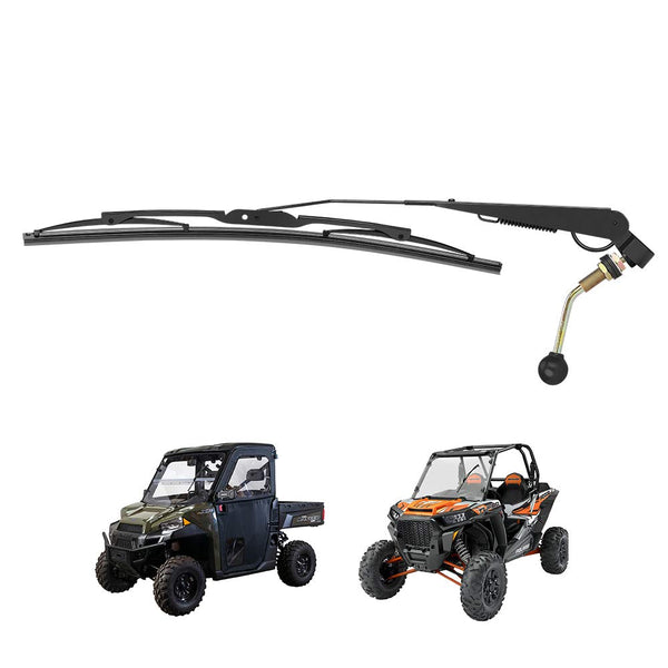 UTV Manual Hand Operated Windshield Wiper - Kemimoto