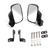 2016 -2019 Polaris General 1000 1000-4 - Rear View Side Folding Mirrors(Compatible with Windshield not Full Door) - Kemimoto