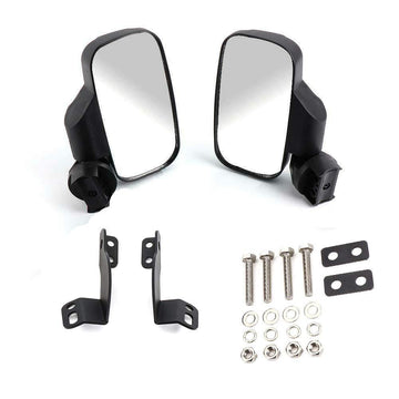 2016 -2019 Polaris General 1000 1000-4 - Rear View Side Folding Mirrors(Compatible with Windshield not Full Door)