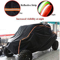 Polaris XP 1000 S Storage Cover Rays-Reflective Strip for Increased Visibility - Kemimoto