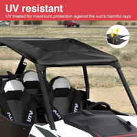 Polaris RZR 4 900 XP4 Soft Top 2015-2019 UTV Canvas Roof Top Turbo 1000 for 4 Seater - Kemimoto