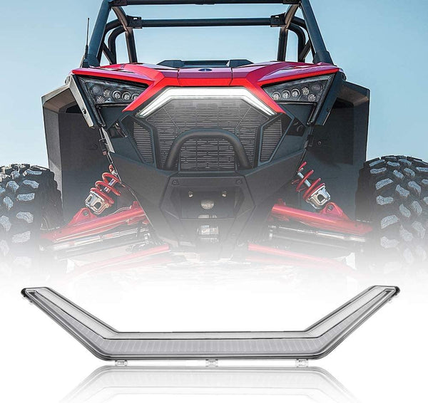 RZR PRO XP Front Accent Light, KEMIMOTO LED Center Light Turn Signal Assembly Compatible with 2020 Polaris RZR PRO XP / 4#2884346 - KEMIMOTO