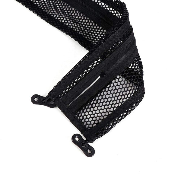 Can Am Defender HD8 HD10 MAX Dashboard Dash Net Kit  Dashboard Dash Storage Cargo Nets - Kemimoto