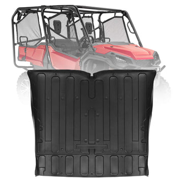 Honda Pioneer SXS 1000 Rubber Bed Mat Liner TPE M5-5 Seater 2016-2019