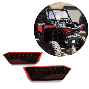 Polaris RZR 1000 900 XP 4 TURBO 2014-2019 LED Tail Light Rear Lamp Replacement Set of 2
