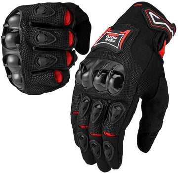 Motorcycle Gloves Men Riding Breathable Summer Carbon Fiber Glove