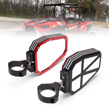 "KEMIMOTO 1.75"" UTV Side View Mirrors"