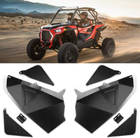 "RZR Lower Door Panel Inserts Driver's and Passenger's Side 60"" Aluminum - Kemimoto"