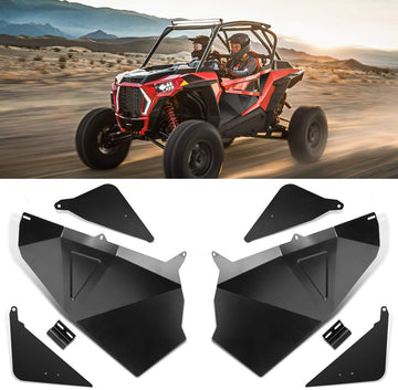"RZR Lower Door Panel Inserts Driver's and Passenger's Side 60"" Aluminum"
