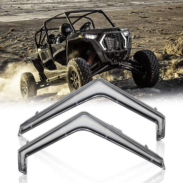 2019+ Polaris RZR XP 1000 & Turbo S Front Turn Fang Light Set IP67