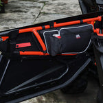 Can Am Maverick X3 Door Strorage Bags with Removable Knee Pad - KEMIMOTO
